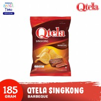 Qtela Singkong Barbeque 185 Gr - 1 Pcs