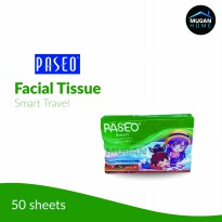 TISSUE PASEO TRAVEL PACK 50 LEMBAR (TISU KERING PASEO 50 SHEETS)