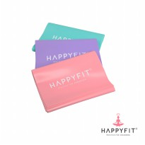 HAPPYFIT FLEXI BAND EXERCISE STRAP PINK - 0.04cm