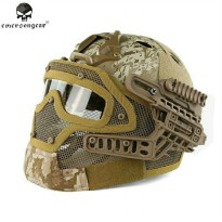 tactical helmet loreng