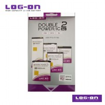 LOG-ON Battery For Mito Tablet T720 - 3600mAh DoublePower & IC - Garansi 6 Bulan