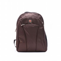 Tas Ransel Laptop/Laptop Backpack/Polo Texas/1205/Coffe/Cordura