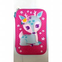 My Style TM 2219 Wild Pink Deer Hardtop Pencil Case