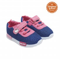 Hello Kitty Baby Girl Sport Canvas Shoes Navy
