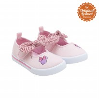90 Years of Magic Disney Minnie Mouse Baby Girl Mary Jane Shoes Pink