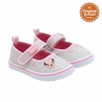Disney Minnie Mouse Baby Mary Jane Shoes Grey