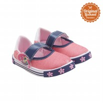 Shimmer and Shine Baby Girl Mary Jane Shoes Denim Fuchsia