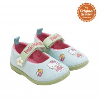 Hello Kitty Baby Girl Soft Sued Shoes Turquoise