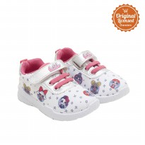 LOL Baby Girl Sport Shoes Glitter White
