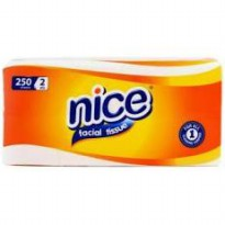 Nice Facial Tissue [250 Sheets/ Soft Pack]