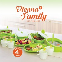 Serving set NEW Vienna Family Set/ Wadah saji set