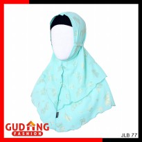 Kerudung Hijab Double Layer Bubble Pop - JLB 77
