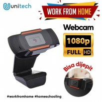 Webcam Unitech HD 1080P