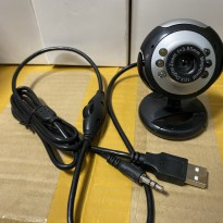 Webcam built in mic led light web cam camera live video