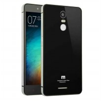 Back Case Xiaomi Redmi Note 3 / 3 PRO Tempered Glass Series List Silver – Hitam