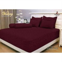 Internal Vallery Dark Red/Maroon Sprei 180x200x30