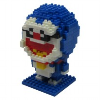 LDL 115 Action Figure Nano Blocks World Series Doraemon