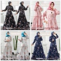 Dress Muslim Gamis Pesta Elegan Syania as