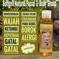 Gove Natural Facial and Body Soap - Sabun Gove Cair