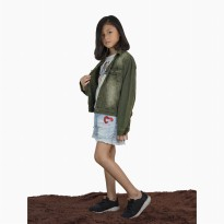 Jaket Jeans Denim Outdoor Washed anak remaja Unisex - Jfashion Demi