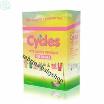 cycles mild laundry detergent