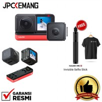 Insta360 One R Insta 360 One R Twin Edition Free Invisible Stick 70cm+T-Shirt Insta360 GARANSI RESMI