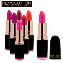 MAKE UP REVOLUTION ICONIC PRO LIPSTICK 100% ORIGINAL [LIPSTICK CARNAVAL]