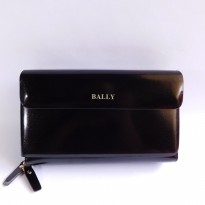 HANDBAG TAS TANGAN PRIA KULIT IMPORT BRANDED | BALLY 602B BLACK