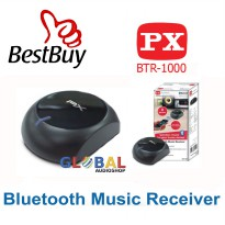 PX BTR-1000 Musik Receiver Bluetooth Support SBC codec