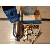 spray cat / spray gun meiji F-100 tabung atas Original