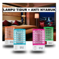 BS Mosquito Repellent Electron Lamp Lampu LED Perangkap Anti Nyamuk