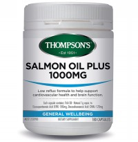 Thompson's Salmon Oil 1000mg - 180 Kapsul