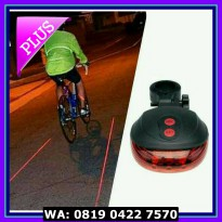 (Murah) LASER TAIL LIGHT LAMPU SEPEDA (LASER TAIL LIGHT)
