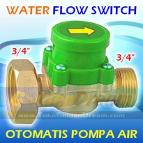 Otomat Pompa Air 3/4' - 3/4' Kuningan Water Pump Flow Switch Saklar