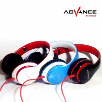 ADVANCE MH-033 Stereo Headphones Powerfull Bass