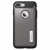 Spigen iPhone 7 Plus Case Slim Armor SGP-043CS20309 - Gun Metal