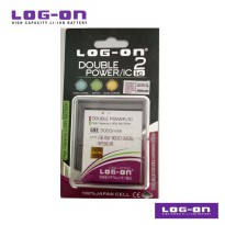 LOG-ON Battery For Polytron Rocket Quadra W7550 Lite - 3000mAh DoublePower & IC - Garansi 6 Bulan