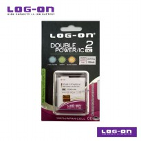 LOG-ON Battery For Polytron C24B / C 24B - 2500mAh DoublePower & IC - Garansi 6 Bulan