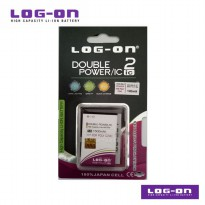 LOG-ON Battery For Polytron C24C / C 24C - 2500mAh DoublePower & IC - Garansi 6 Bulan