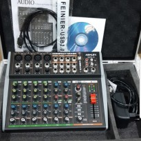 MIXER AUDIO ASHLEY NOTE 12CH WITH SOUNDCARD
