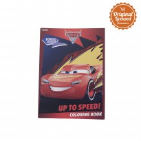 Cars Coloring Book L (Up To Speed)