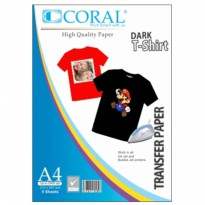 CORAL SHIRT TRANSFER DARK
