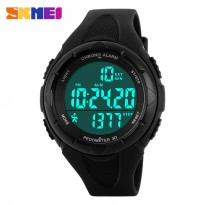 Jam LED SKMEI S-Shock Pedometer Sport Watch Water Resistant 50m - 1108