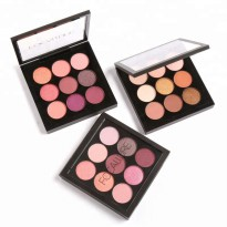 (POP UP AIA) Focallure Palette Eyeshadow MatteGlitter 9 Warna