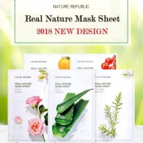 (POP UP AIA) NATURE REPUBLIC Real Nature Mask Sheet