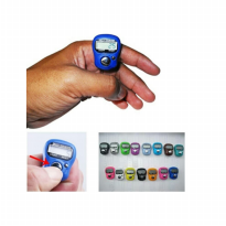 BS Alat Hitung Tasbih Digital Dzikir Mini Jari Finger Tally Counter - Random