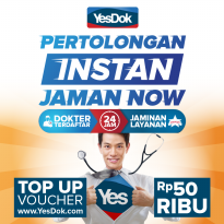 YesDok Top Up Voucher Value Rp 50.000