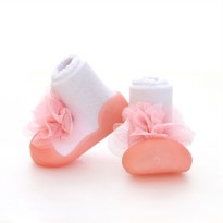 Attipas Baby Shoes New Corsage Pink