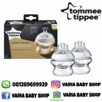 BOTOL ISI 2 TOMMEE TIPPEE CLOSER TO NATURE 150ML
