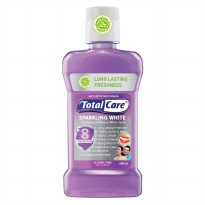 TOTAL CARE Anti Bacterial Mouthwash Sparkling White - 500 mL